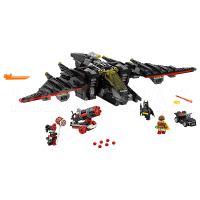 Конструктор Lepin 07080 / Batman Movie Бэтмолёт (ЛЕГО 70916, 1068 дет.)
