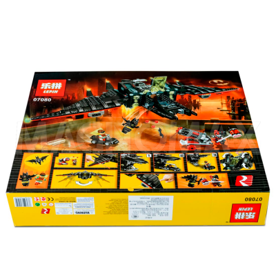 Конструктор Lepin 07080 / Batman Movie Бэтмолёт (ЛЕГО 70916, 1068 дет.) - 3