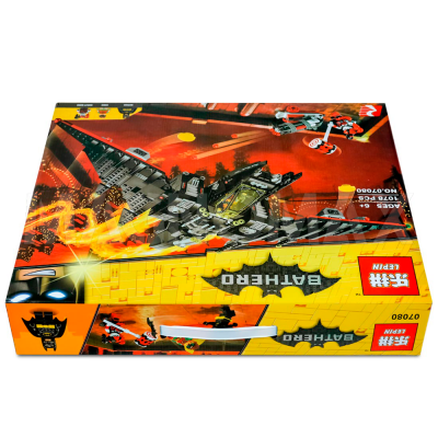 Конструктор Lepin 07080 / Batman Movie Бэтмолёт (ЛЕГО 70916, 1068 дет.) - 5