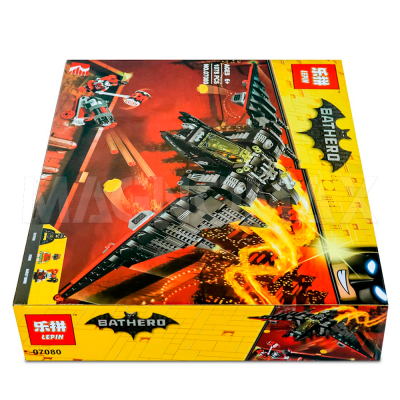 Конструктор Lepin 07080 / Batman Movie Бэтмолёт (ЛЕГО 70916, 1068 дет.) - 4